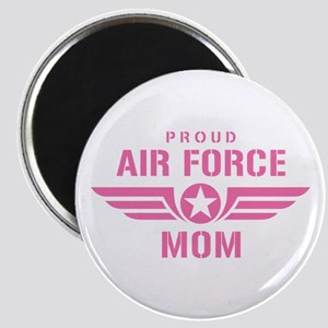 Proud Air Force Mom W [pink] Magnet